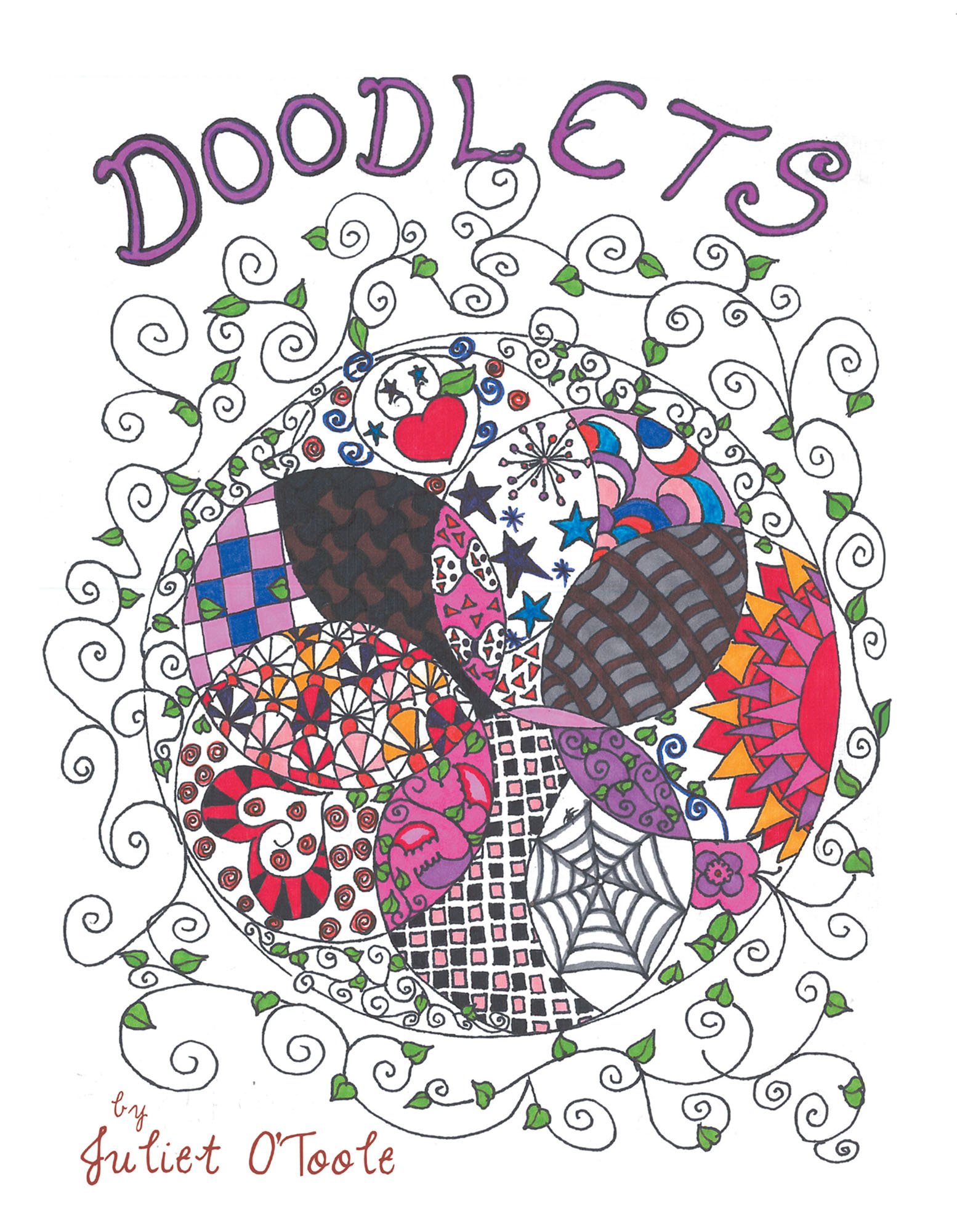 Step Inside The World Of Juliet OToole With Her First Custom Coloring Book Imagination Is On Full Display As She Provides Each Artist