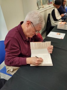 Signing at Book at the Book Fair at the Lake County Public Library