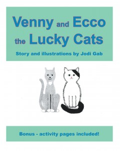 Venny and Ecco the Lucky Cats